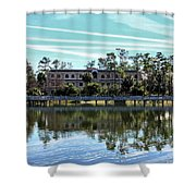 Reflections At The Lake Shower Curtain
