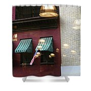 Reflections Building Nyc  Shower Curtain