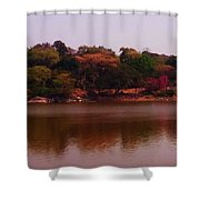 Reflections In A Lake Shower Curtain