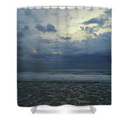 Reflections In The Surf Shower Curtain