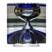 Reflections In Time Shower Curtain