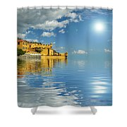 Reflections -madeira Shower Curtain