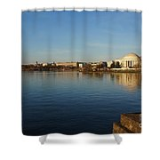 Reflections  Shower Curtain by Megan Cohen