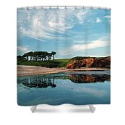 Reflections Of Budleigh Shower Curtain