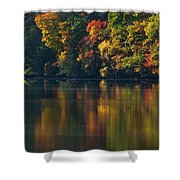 Reflections Of Colors Shower Curtain