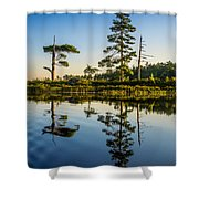 Reflections Of Dawn Shower Curtain