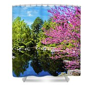 Reflections Of Denver Shower Curtain