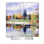 Reflections Of Home Shower Curtain