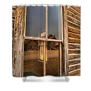 Reflections Of Montana Mining Shower Curtain