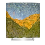 Reflections Of Montenegro No.3 Shower Curtain