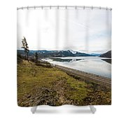Reflections Of Mosier Shower Curtain