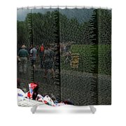 Reflections Of Sacrifice Shower Curtain