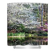 Reflections Of Spring Shower Curtain
