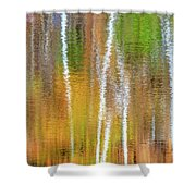 Reflections Of The Canadian Fall Shower Curtain