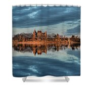 Reflections Of The Heart Shower Curtain
