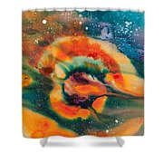 Reflections Of The Universe No. 2051 Shower Curtain