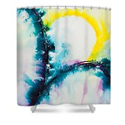 Reflections Of The Universe No. 2058 Shower Curtain