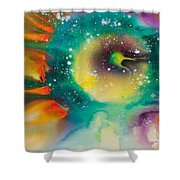 Reflections Of The Universe No. 2062 Shower Curtain