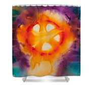 Reflections Of The Universe No. 2074 Shower Curtain