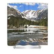 Reflections On Chinns Lake 6 Shower Curtain