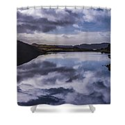 Reflections On Harris Shower Curtain