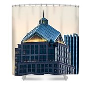 Reflections On Legacy Tower Shower Curtain