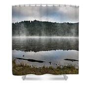 Reflections On Reflection Lake 2 Shower Curtain
