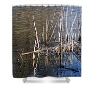 Reflections On The Yellow River Shower Curtain
