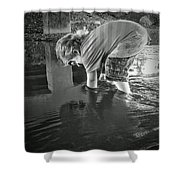 Reflections Shower Curtain by Savannah Fonner