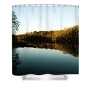Reflections Shower Curtain by Valeria Donaldson