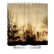 Reflective Moments Shower Curtain