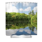 Reflecton On Tranquility Shower Curtain