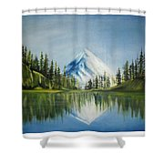 Reflexion 2 Shower Curtain