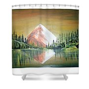 Reflexion Shower Curtain