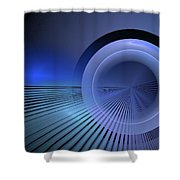 Refractive Index Of Life Shower Curtain