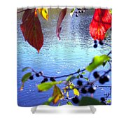Refreshing View Shower Curtain