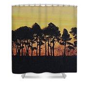 Refuge Sundown Shower Curtain