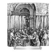 Refusal Of Joachim Offer 1503 Shower Curtain