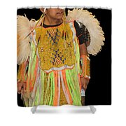Regal And Young Shower Curtain