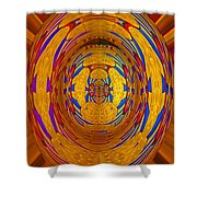Regal Bow Knot Shower Curtain