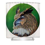 Regal Gaze Shower Curtain