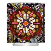 Regal Mandala Shower Curtain
