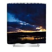 Regal Sundown Shower Curtain