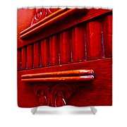 Regally Red Shower Curtain