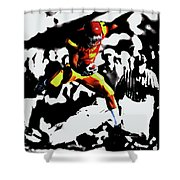 Reggie Bush Up And Over Shower Curtain