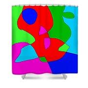 Reginalds Resolve Shower Curtain