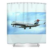Regional Jet Shower Curtain