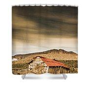 Regional Ranch Ruins Shower Curtain