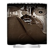 Rehearsal Time Shower Curtain