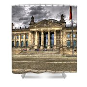 Reichstag Building  Shower Curtain by Jon Berghoff